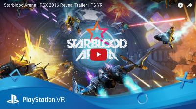 PSVRゲームソフト「STARBLOODARENA」のトレイラー