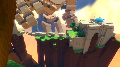PSVRゲームソフト「Windlands」