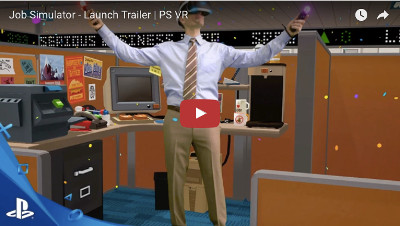 PSVRゲーム「Job Simulator」