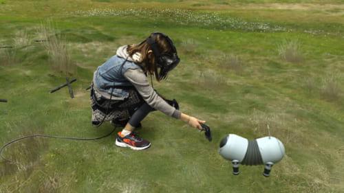TheLab犬と子供