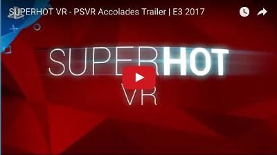PSVRゲーム「SUPERHOT」動画