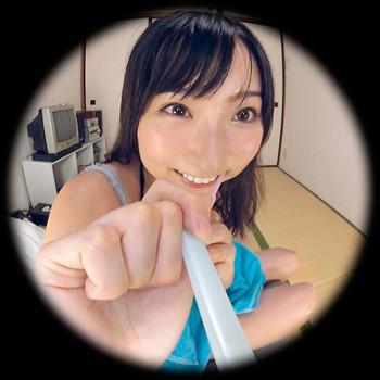 VRアイドル新作動画「緒方咲と歯磨き」