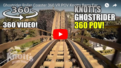 おすすめYoutubeのVR動画「ジェットコースター」