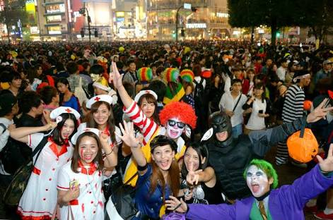 渋谷の素人がハロウィンでエロく覚醒!!