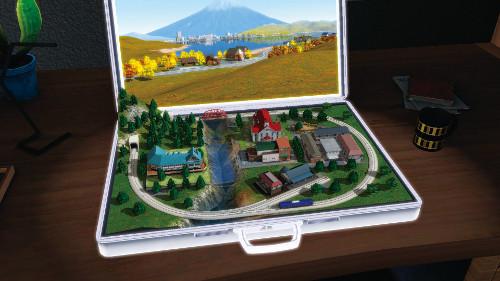 PSVRゲームソフト「A列車で行こう」