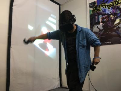 TGS2017レポ「VRで憧れのヒーローに」