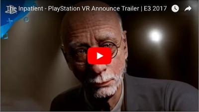 PSVRゲーム「he Inpatient」のPV動画