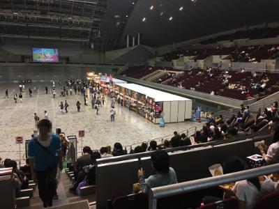 TGS2017のスタジアム席でご飯