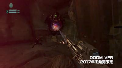 PSVR新作ゲーム「DOOM VFR」