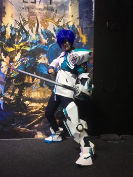 東京ゲームショウ2017のヒカルのコスプレ