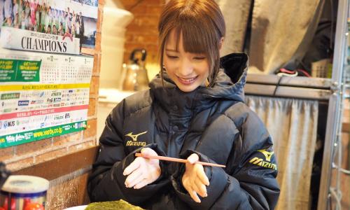MIZUNO桃乃木かな