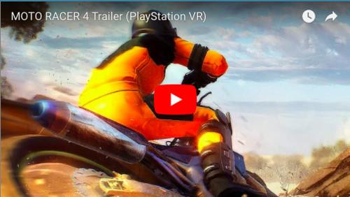 PSVRゲームソフト「Moto RACER」のPV