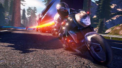 PSVRゲームソフト「MOTO RACER4」