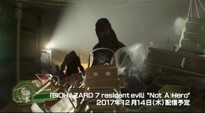 PSVR新作ゲーム「バイオハザードnot a hero」