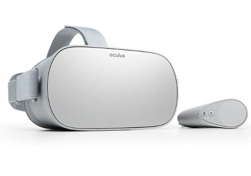 Facebookが新VRゴーグル「Oculus GO」を発表!スマホ・PCいらずでVRを楽しめる!