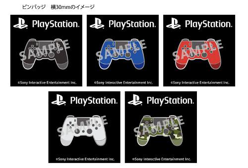 PlayStation祭りのピンバッジ