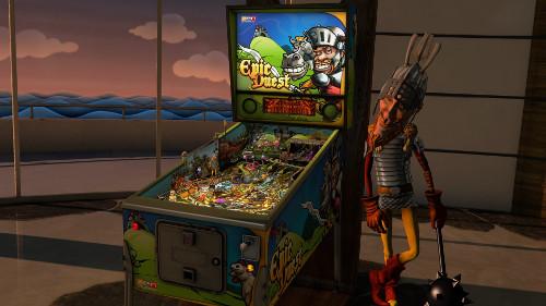 PSVRゲームソフト「Pinball FX2 VR」