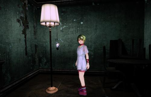 PSVRゲームソフト「ラストラビリンス」の少女