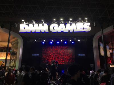 TGS2017のDMMブース
