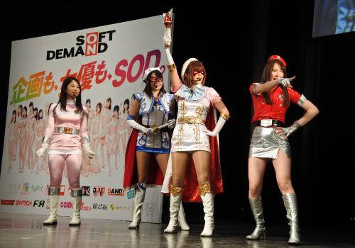 ジャパンアダルトエキスポのヒロインショー