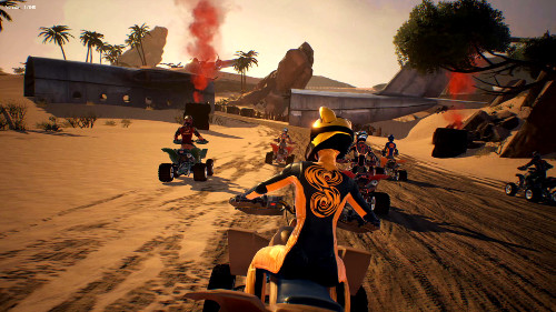 PSVRゲームソフト「ATV ドリフト&トリックス」