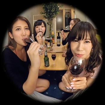 VRアイドル新作動画「4人の女の子と飲み会」