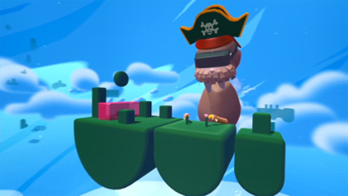 PSVRゲームソフト「Fantastic Contraption」