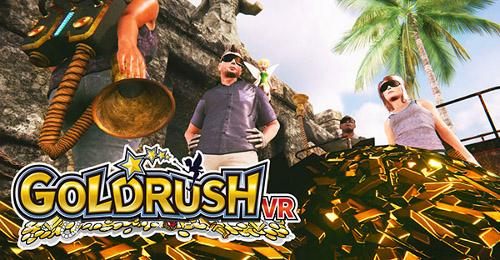 VR PARK TOKYO池袋のゴールドラッシュ