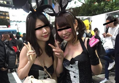 【2017年最新版】ハロウィンで見つけたエロ画像!渋谷のハロウィンのコスプレがエロすぎてパリピになりかけました!