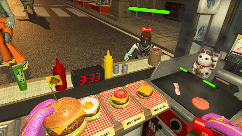 PSVRゲームソフト「PixelJunk VR™ Dead Hungry」