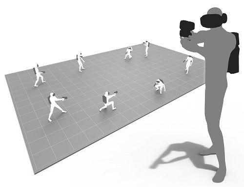 攻殻機動隊VRのフィールド