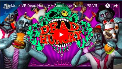 PSVR対応ゲームソフト「PixelJunk VR™ Dead Hungry」の動画