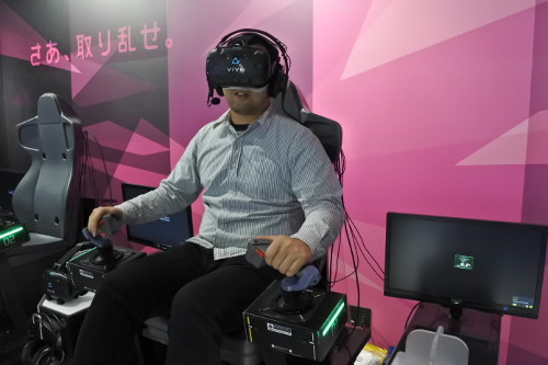 戦場の絆VRをプレイ