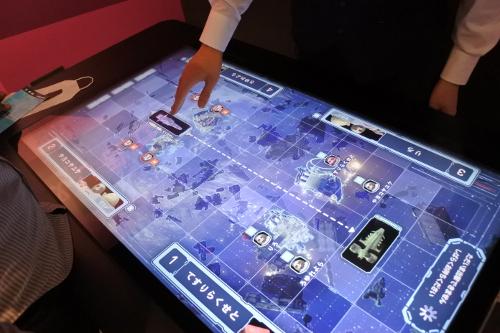 戦場の絆VRの戦略マップ