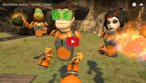 PSVRゲームソフト「スマッシュボックス」のPV動画