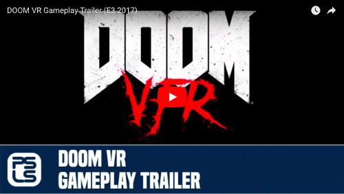 PSVRおすすめゲームソフト「DOOM VFR」のトレイラー