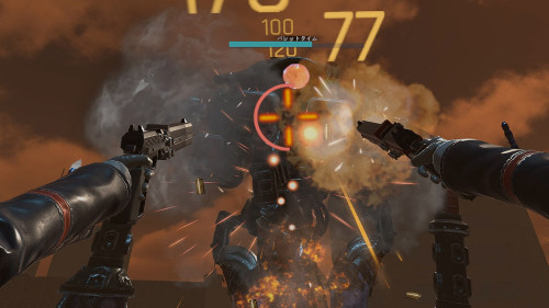PSVRおすすめゲーム「GUNGRAVE VR」