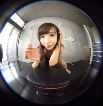 アイドルVRで藤島もなみの笑顔