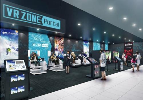 VR体験施設「VR ZONE Portal」オープン!国内20店舗で最新VRを楽しめる!
