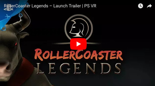PSVRゲームソフト「RollerCoaster Legends」の動画