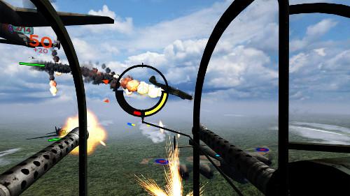 PSVRのおすすめゲーム「Bandit Six: Combined Arms」