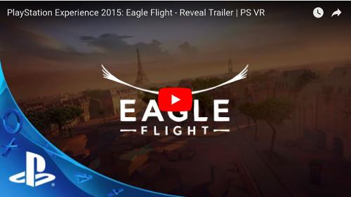 PSVRソフト「イーグルフライト」の動画