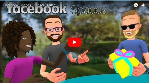 Facebook Spacesの動画