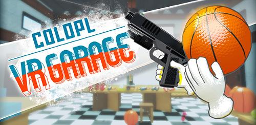 コロプラのVRアプリ「COLOPL VR GARAGE」