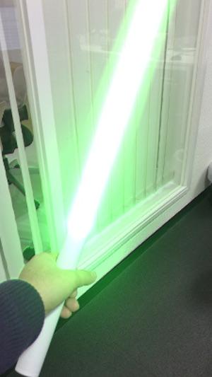 緑のARライトセーバー