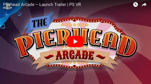PSVRゲームソフト「Pierhead Arcade」の動画