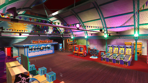 PSVRゲームソフト「Pierhead Arcade」