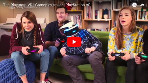 PSVRソフト「Playroom VR」の動画