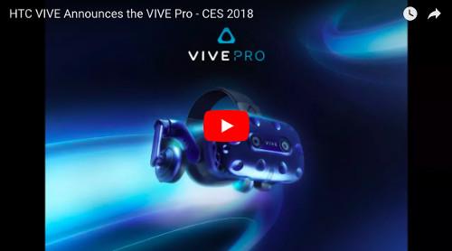 HTC ViveProの動画