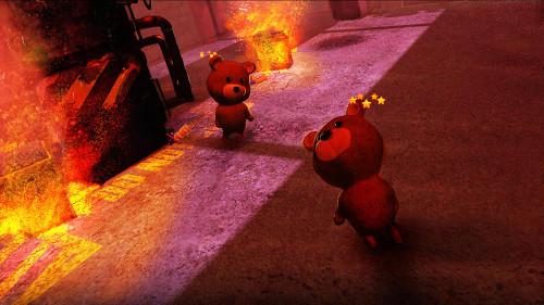 PSVRソフト「Sneaky Bears」